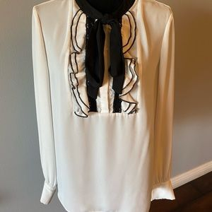 Lovely Cece Bow tie Blouse
